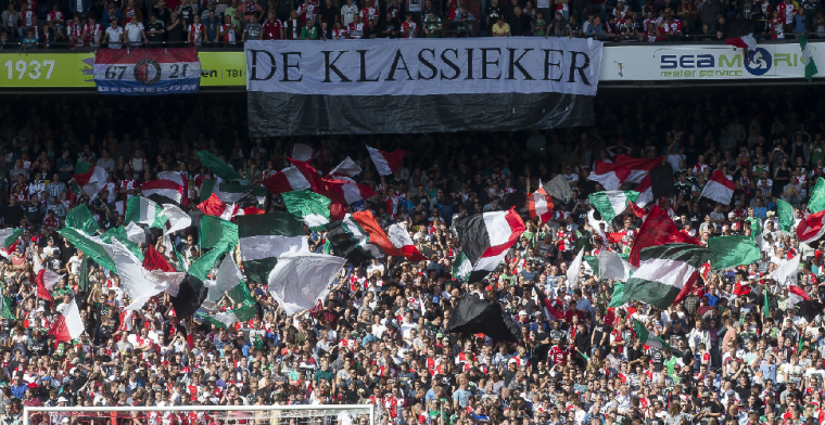 Feyenoord-fans jutten elkaar ondanks lockdown op: 'Het voelt voor ons heel anders'