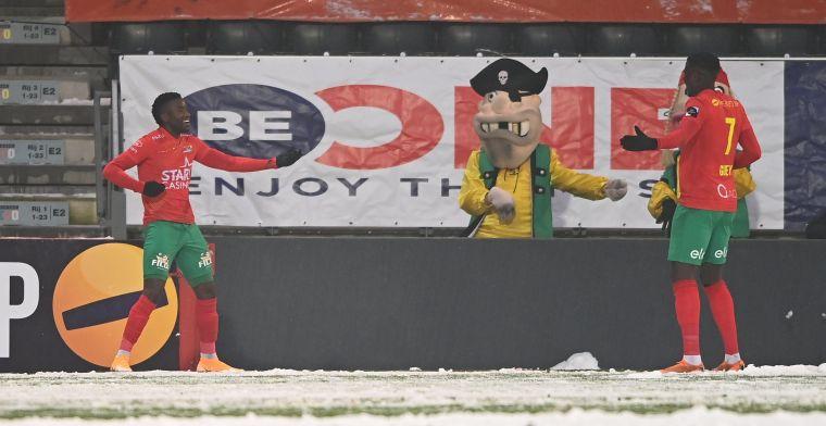 Sneeuw kan de pret niet bederven, Sakala helpt Oostende aan zege tegen Kortrijk