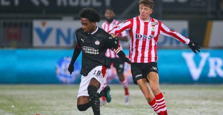 PSV kan uitglijder tegen Sparta afwenden: 3-5 in 'oranje bal-wedstrijd'