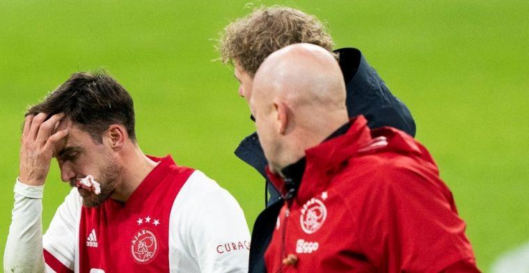 Tagliafico bereidde zich goed voor op Ajax-transfer: 'Koud weer, moeilijke taal'