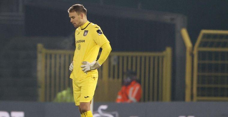 Anderlecht-doelman Wellenreuther onder vuur: 'Wat een blunder!'