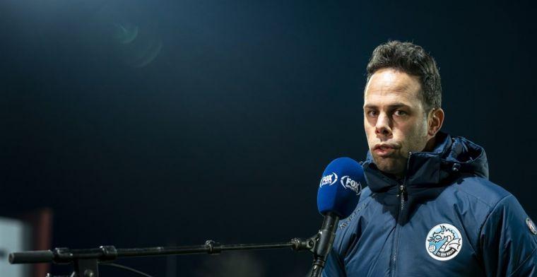 FC Den Bosch past beleid na vier dagen aan: trainer wordt per direct ontslagen