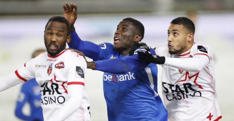 Rode lantaarn Moeskroen verrast Genk, Club Brugge kan verder uitlopen