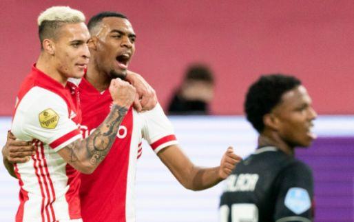 Afbeelding: Ajax wint zwakke topper en verstevigt koppositie ten koste van Feyenoord