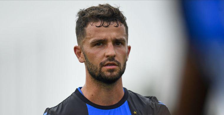 Ik weet niet waarom het voor hem niet is gelukt bij Club Brugge