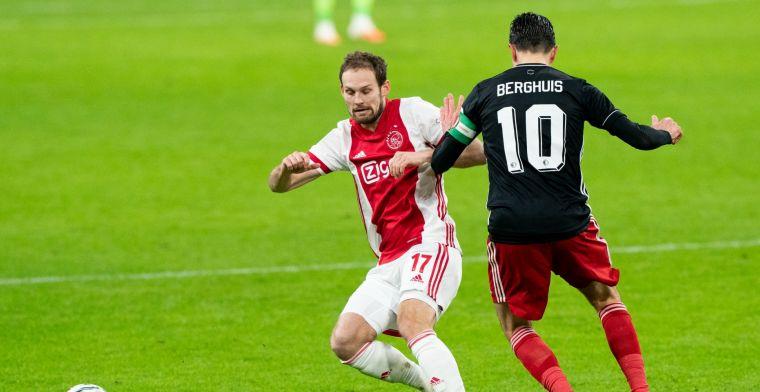 LIVE: Ajax verslaat Feyenoord met minimale cijfers in matige Klassieker (gesloten)