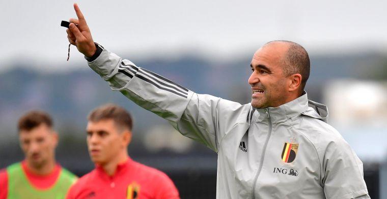 Martinez over vervanging van Witsel: Het moment om jongere spelers te bekijken