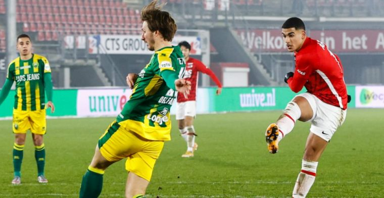 Duidelijke boodschap AZ-matchwinner Aboukhlal: 'Misschien vind ik dat wel'
