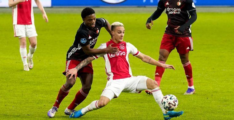 Antony geneutraliseerd door Feyenoord: 'Iedereen zei me dat hij zo goed is'