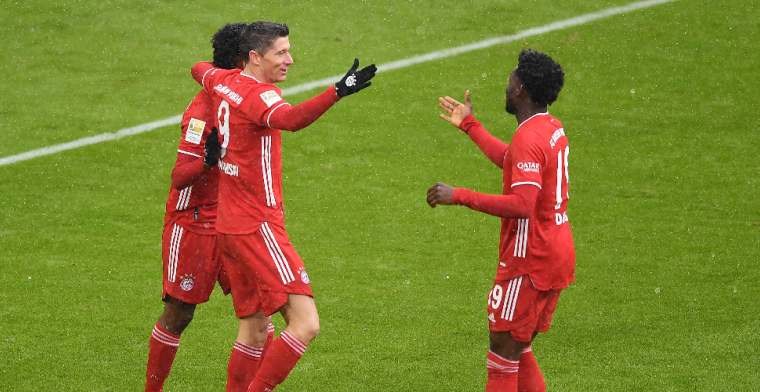 Müller en Lewandowski bezorgen Bayern München nipte overwinning