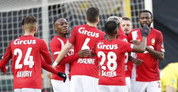 Standard pakt haar tweede overwinning op rij tegen Cercle Brugge