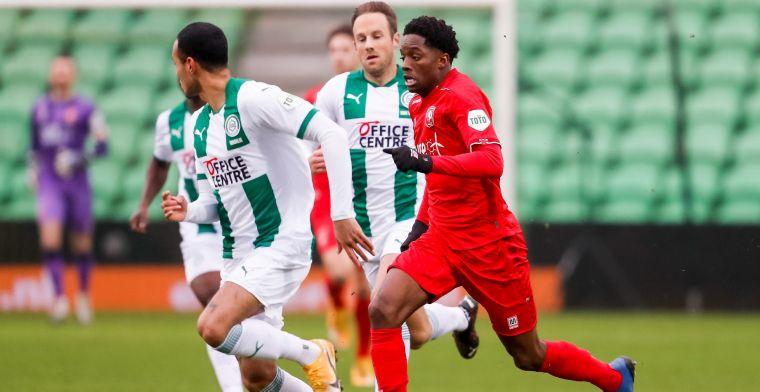 FC Twente geeft voorsprong uit handen en deelt punten met FC Groningen