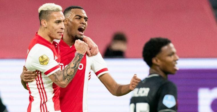 Ajax wint beroerde Klassieker en verstevigt koppositie ten koste van Feyenoord