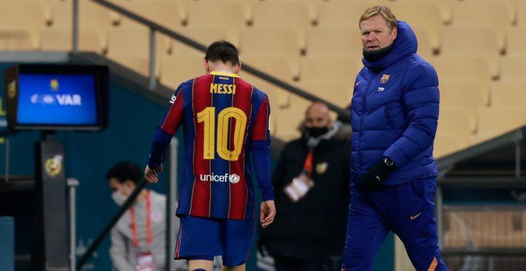 Een 4 voor Koeman na eerste finale met Barça: 'Beker gedragen door de duivel'
