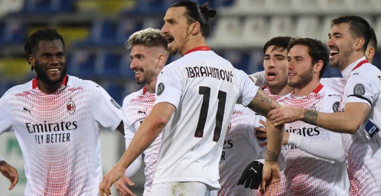 Zlatan blinkt weer uit bij AC Milan, Aubamayang neemt Arsenal bij de hand
