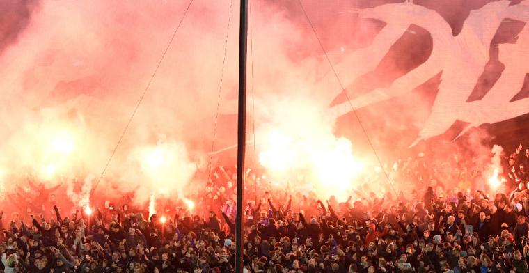Verbazing over actie van Feyenoord-fans: Onverantwoordelijk en onbegrijpelijk