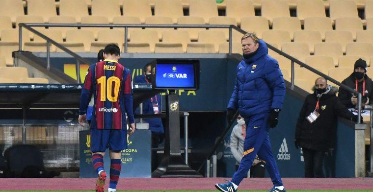 'Lange schorsing Messi dreigt, Argentijn pas in februari weer in actie'