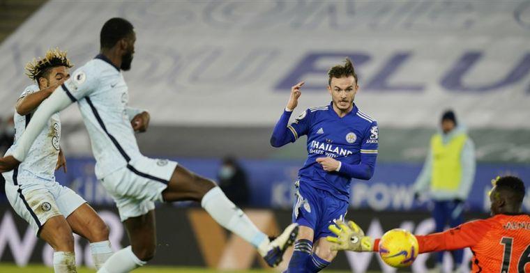 Chelsea krijgt weer tik te verwerken: Leicester City wint Premier League-topper