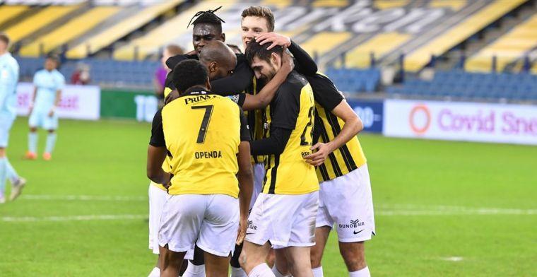 Vitesse maakt het onnodig spannend, maar bereikt ten koste van ADO kwartfinale