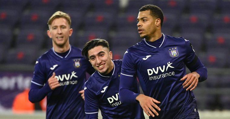 LIVE: Amuzu zorgt voor verlossende 3-0, Anderlecht op weg naar makkelijke zege