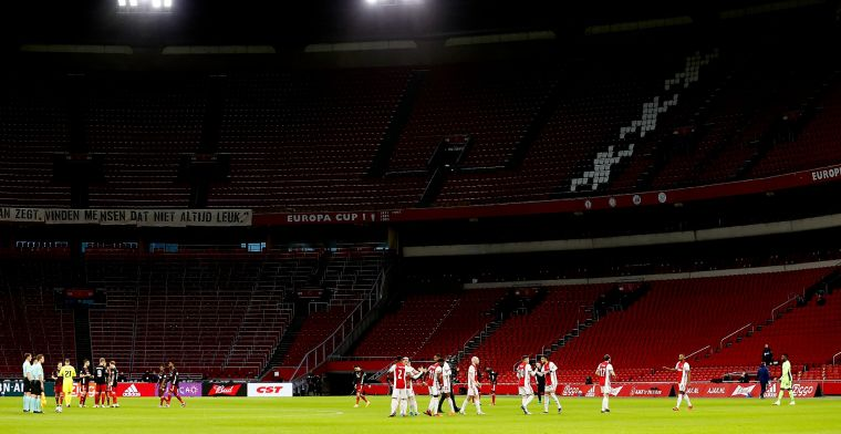 Telegraaf: stadions Ajax en Feyenoord krijgen zware klappen door coronacrisis