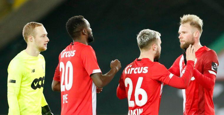 Pro League legt sanctie op aan Standard en Antwerp voor overtreden Covid-protocol