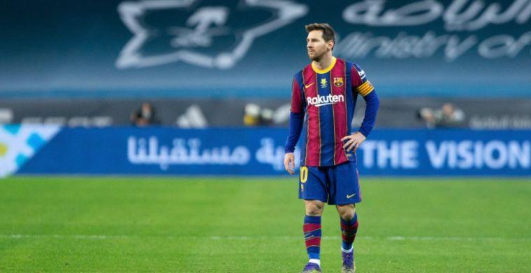 UPDATE: Barça-beroep levert niets op, schorsing van Messi blijft staan