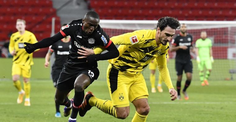 Bosz en Leverkusen winnen topper tegen Dortmund, ook Weghorst juicht