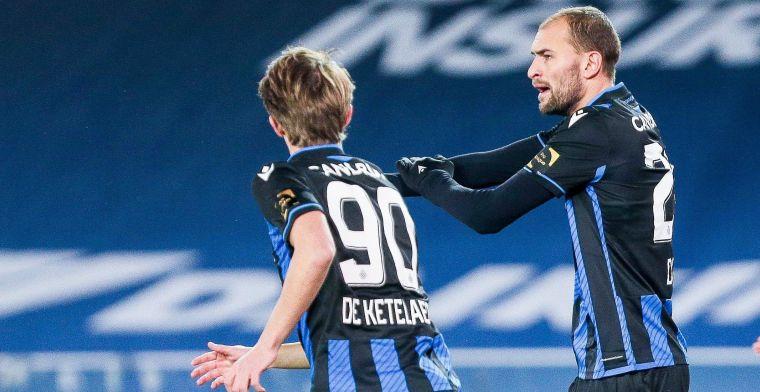 Dost blijft maar scoren voor Club Brugge, nummer drie is een feit voor de spits