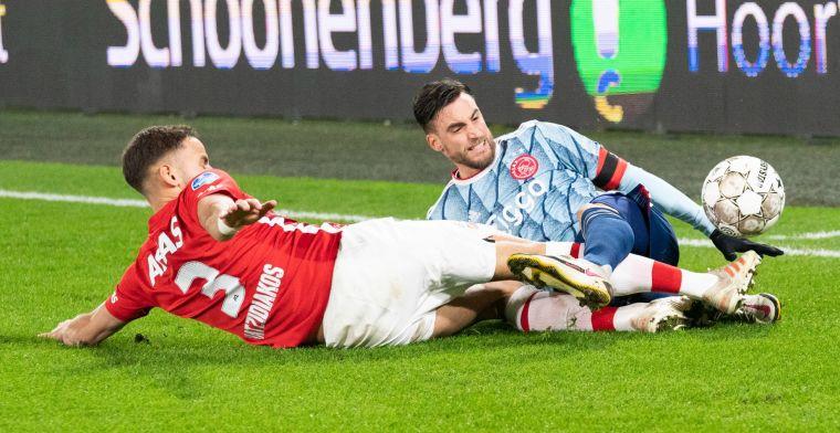 Ajax deelt gevoelige tik uit en elimineert AZ in KNVB Beker