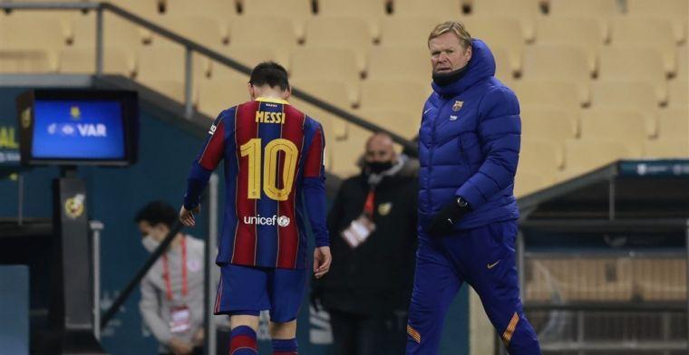 Koeman lacht om interesse voor Messi: 'Ik wil Neymar en Mbappé ook hebben'
