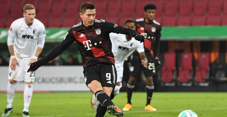 Dure misser van Finnbogason: Bayern München kruipt door het oog van de naald