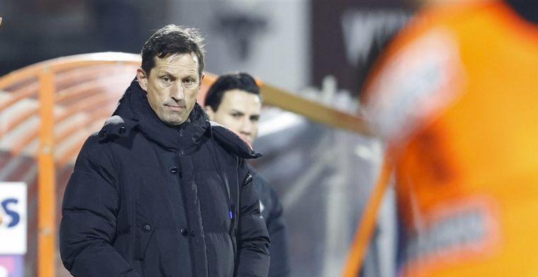 Schmidt is het niet eens met Jonk: 'Zege PSV op basis tweede helft verdiend'