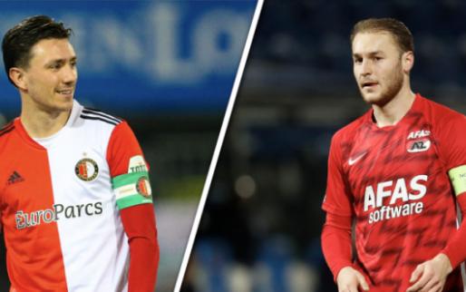 Twee Feyenoord- en twee AZ-uitblinkers vermoedelijk bezig aan afscheidstournee