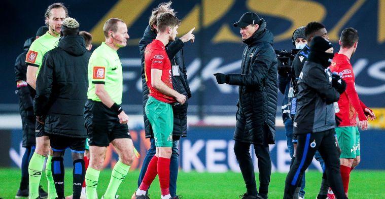 """Blessin misnoegd na Club Brugge: """"De ballen hebben om tweede penalty te fluiten"""""""