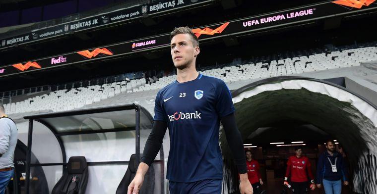 Seigers (23) neemt afscheid van KRC Genk: Wil zo hoog mogelijk spelen
