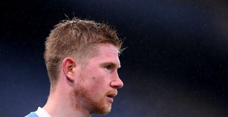 Guardiola ziet De Bruyne uitvallen: Denk dat het een spierblessure is