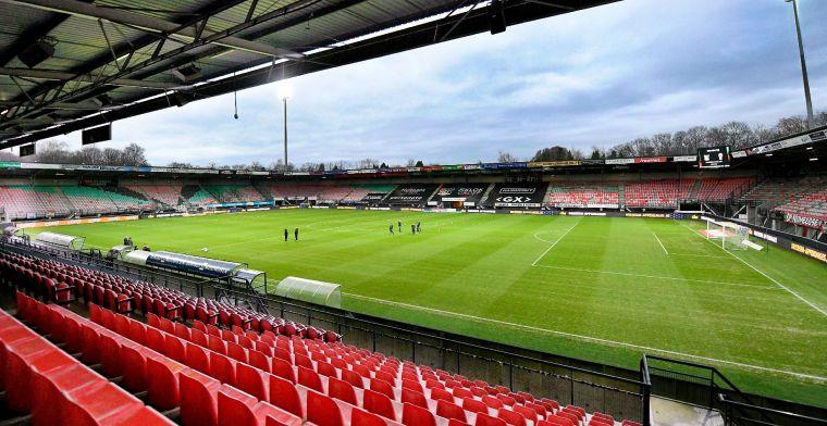'NEC troeft verschillende Serie A-clubs af en haalt talentvolle aanvaller binnen'