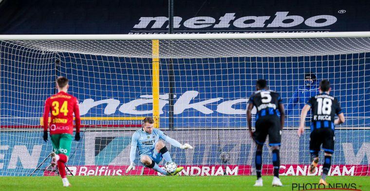 """Club Brugge-held Mignolet na penaltysave: """"Aan de hand van mijn voorbereiding"""""""