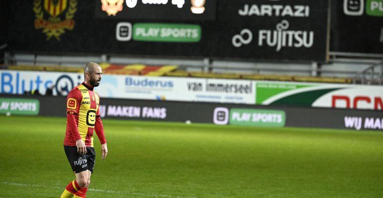 """Defour baalt na zware nederlaag KV Mechelen: """"We liepen maar wat rond"""""""