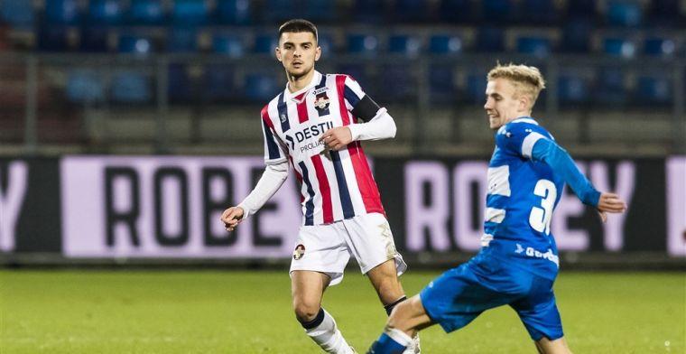Gifbeker nog niet leeg voor Willem II: hattrick van Reza bezorgt PEC de punten