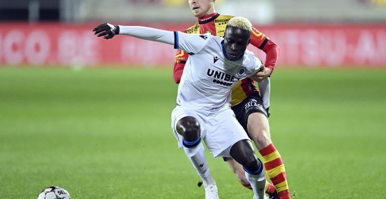 Diatta zal geen hoofdrol krijgen in de geschiedenis van Club Brugge