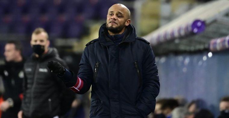 Kompany looft Waasland-Beveren en baalt na gelijkspel van Anderlecht