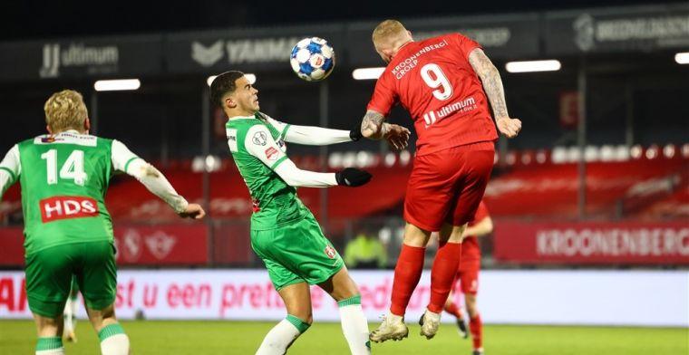 Almere knokt zich weer naast Cambuur, Telstar laat zich verrassen door AZ-talenten