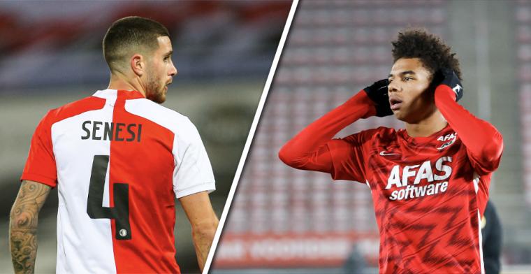Spelersbattle: Feyenoord beste defensie, AZ domineert middenveld