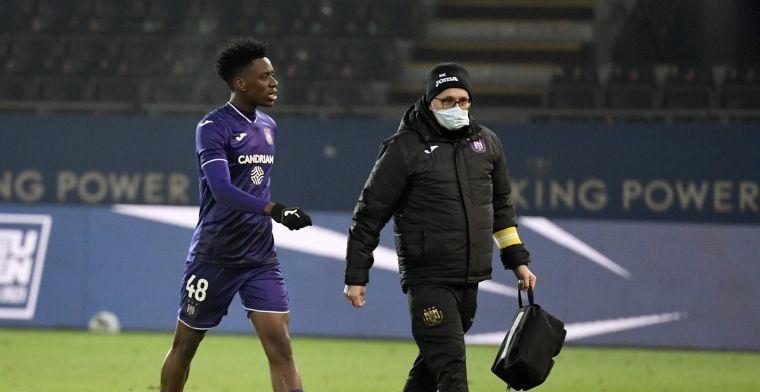 'Anderlecht heeft uitstekend nieuws over blessure van Sambi Lokonga'