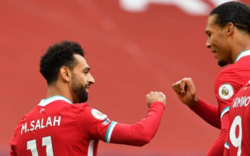 Geblesseerde Van Dijk heeft meer prioriteit voor Liverpool dan topscorer Salah