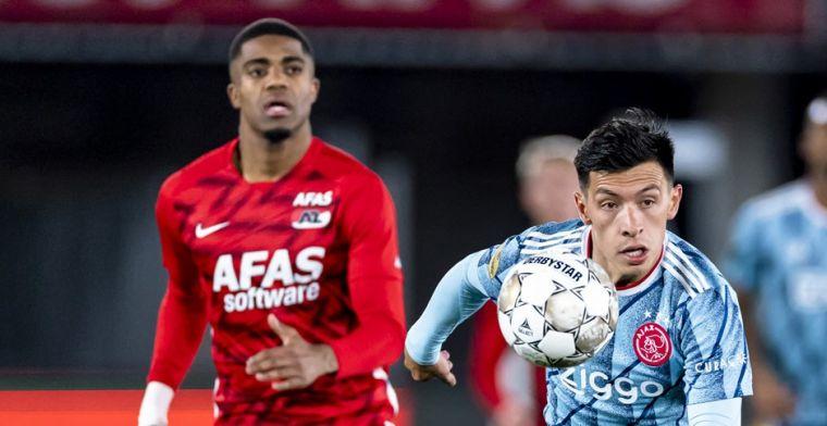 Martínez op de bank bij Ajax: 'Overkomt mij dat ik me boos en verdrietig voel'
