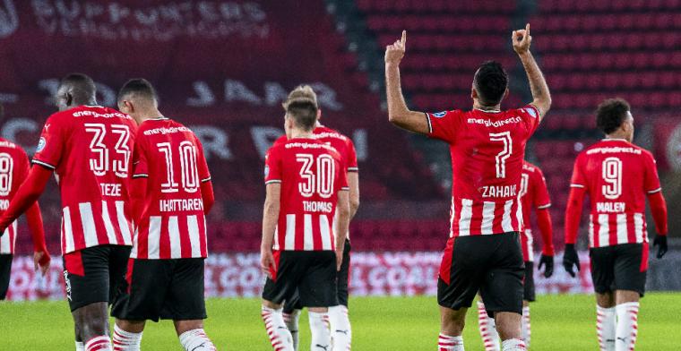Zahavi en Rosario helpen zakelijk PSV aan overwinning op RKC Waalwijk