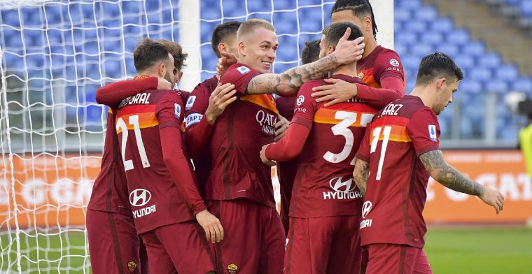 AS Roma en Spezia maken er spektakelstuk van met zeven goals